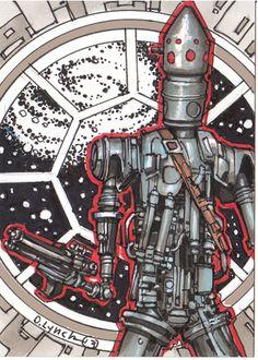 Star Wars IG-88 by DavePLynch