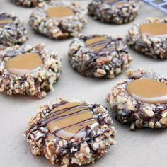 Insanely Delicious Turtle Cookies Recipe - ZipList