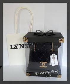 TONIC KENSINGTON HANDBAG & HANDMADE PRESENTATION BOX