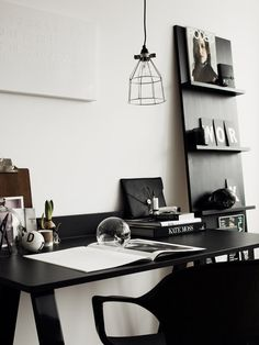 I think I really like the black and white office color scheme now..