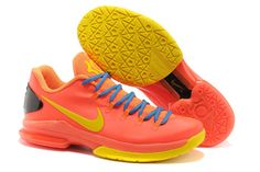 970f7ec42f21 Kevin Durant KD 5 Elite Team Orange Tour Yellow Total Orange Photo Blue Nike  Zoom KD