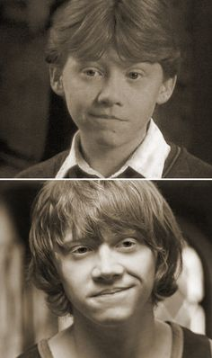 That face! Ron weasley