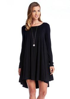 Karen Kane Solid Swing Dress - Belk.com