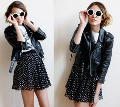 Favorite leather jacket EVER. #leather #jacket #sunglasses
