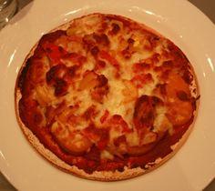 gf sweet potato kimchi pizza