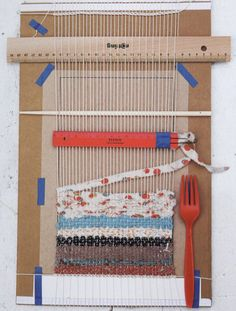 Simple 'loom' to make placemats, etc...