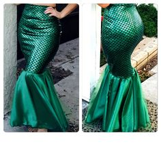 AARIEL-Adult Mermaid Tail Kostüm / Mermaid tail von MTBGBOUTIQUE