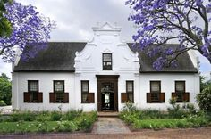 The Manor House @ Vrede en Lust, Franschhoek Valley Classic Architecture, Architecture Design, Landscape Architecture, Holland, South African Homes, Cape Dutch, Village House Design, Dutch House, Dutch Colonial