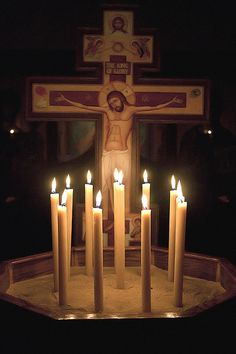 Candles for Holy Friday