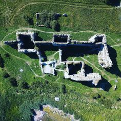 See an aerial view of Toolse castle in Estonia and read a brief introduction to the location and it´s history. Castle Ruins, Medieval Castle, 5 Hours, Drone Photography, Aerial View, Travel Photos, Abandoned, Concrete, Dolores Park