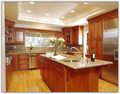 cherry wood kitchen cabinets paint color home design ideas buying guide