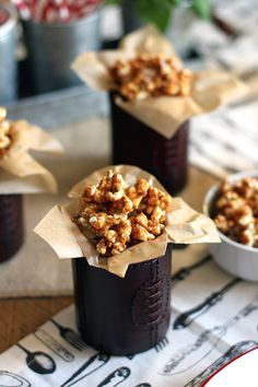 Honey Peanut Butter Popcorn