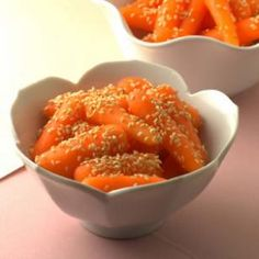 Sesame Carrots Recipe