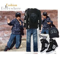 "Kiddie Fashion. ""Naturally GlamRus."""