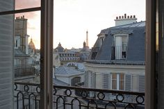 #paris from the rooftops...