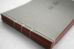 Stab Stitch Binding : flipbook  I like that style. Very simple and crisp.
