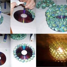 Oh what to do with your old CD's