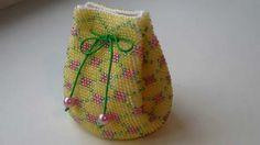Вязание с бисером. Красота необыкновенная. Crochet with beads. Very be...