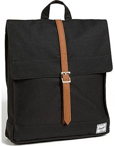 Here comes a new take on the traditional backpack; Herschel Supply Co.'s City bag comes with a black tote design accentuated with a smart brown flap closure. This clean-cut structure is perfect for the casual, Type A travelers looking for a no-fuss bag on their travels around the globe. Digital nomads and round-the-world trippers might find this to be a refreshing alternative to the standard outdoor type bags.