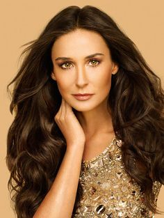 Demi Moore would play Shannon MacGreen (mother of Quinn and Maggie) in the Irish Treasures Saga except she would actually look her age! ;)