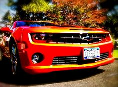 Chevy Camaro with sunburst orange effect is enough to make you warm on the coldest of days! Sensational. Get up close and personal here…  http://www.ebay.com/motors/garage/profile/2469919/2010-Chevrolet-Camaro?roken2=ta.p3hwzkq71.bsports-cars-we-love #spon
