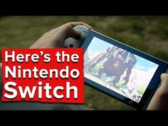 "Nintendo Switch has a 6.2"" 720p multi-touch screen • Eurogamer.net"