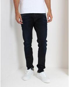 Replay Dark Wash Anbass Hyperflex Jeans - Replay, Black Jeans, Denim, Dark, Pants, Fashion, Trouser Pants, Moda, Fashion Styles