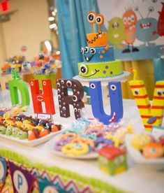 Dhruv's little monster birthday bash | CatchMyParty.com