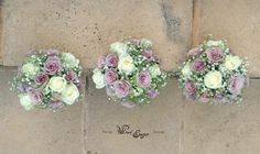 Bridesmaids bouquets - view from the top - Floral Design  by www.pinkenergyfloraldesign.co.za Bridesmaid Bouquet, Bridal Bouquets, Bridesmaids, Summer Wedding, Floral Tops, Floral Design, Floral Wreath, Wreaths, Simple
