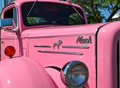 "This is the only truck worthy of ""pink"". A Mack !!"
