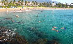 Snorkeling at Black Rock Kaanapali, Maui