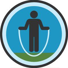 Skipping Badge