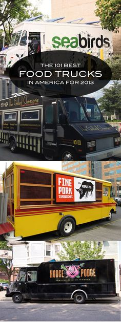101 Best Food Trucks in America — See the whole list: http://www.thedailymeal.com/101-best-food-trucks-america-2013