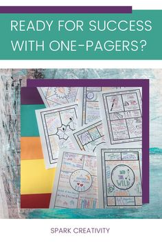 Need one-pagers templates for ELA assessments in your high school or middle school classroom? Choose creative templates for novels, poetry, nonfiction, getting-to-know-you, Ted Talks, reading profiles, and more from Spark Creativity. #onepagers #secondarlyela Icebreaker Activities, Vocabulary Activities, Middle School Classroom, High School, Teacher Awards, Group Dynamics, Critical Thinking Activities, Argumentative Writing, We Are Teachers