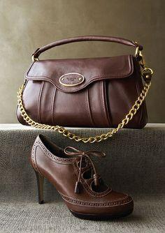 Love the leather platform booties—Ara❣ Talbots