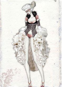 Rococo by Florina Becichi, via Behance