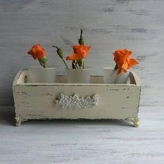 White distressed storage box Wooden decorative boxes Small wooden box Small storage box Distressed b