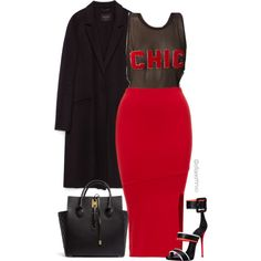 Chic by efiaeemnxo on Polyvore featuring polyvore fashion style Zara Giuseppe Zanotti Michael Kors