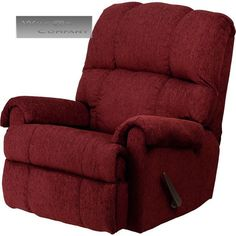 Red Burgundy Fabric Rocker Recliner Lazy Chair Furniture Seat Living Room Boy  sc 1 st  Pinterest & New Brown Leather Power Recliner Lazy Boy Reclining Chair ... islam-shia.org