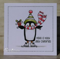 Car-D-elicious: Christmas cards with Woodware penguins