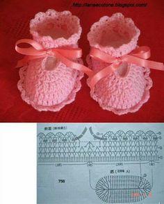 Boot crochet pattern kids