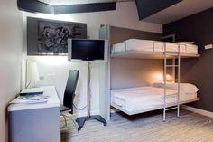 San Bernardo Hotel in Madrid (Spain). LA LITERAL Bunkbeds