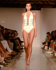 Gottex. See all the best swimsuits from Miami Beach Week.