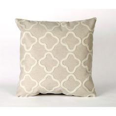 Liora Manne Visions II Crochet Tile Pillow | Wayfair
