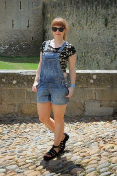 Carcassonne, Overall Shorts, Overalls, About Me Blog, My Style, Red, Women, Fashion, France Vacations