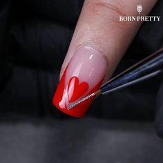 Nail Art Designs Videos, Cute Nail Designs, Acrylic Nail Designs, Gel Nail Kit, Nail Polish Kits, Pretty Gel Nails, Jade Nails, Glitter Gel Polish, Almond Acrylic Nails