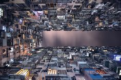 Capturing Hong Kong's Dizzying Vertical Density