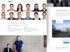 Vonigo : About Us by UENO. #Design Popular #Dribbble #shots