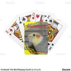 Cockatiel  Pet Bird Playing Card's Card Deck