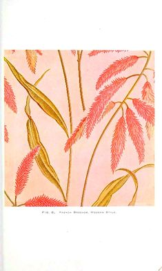 Design - Textile - French Brocade, Modern